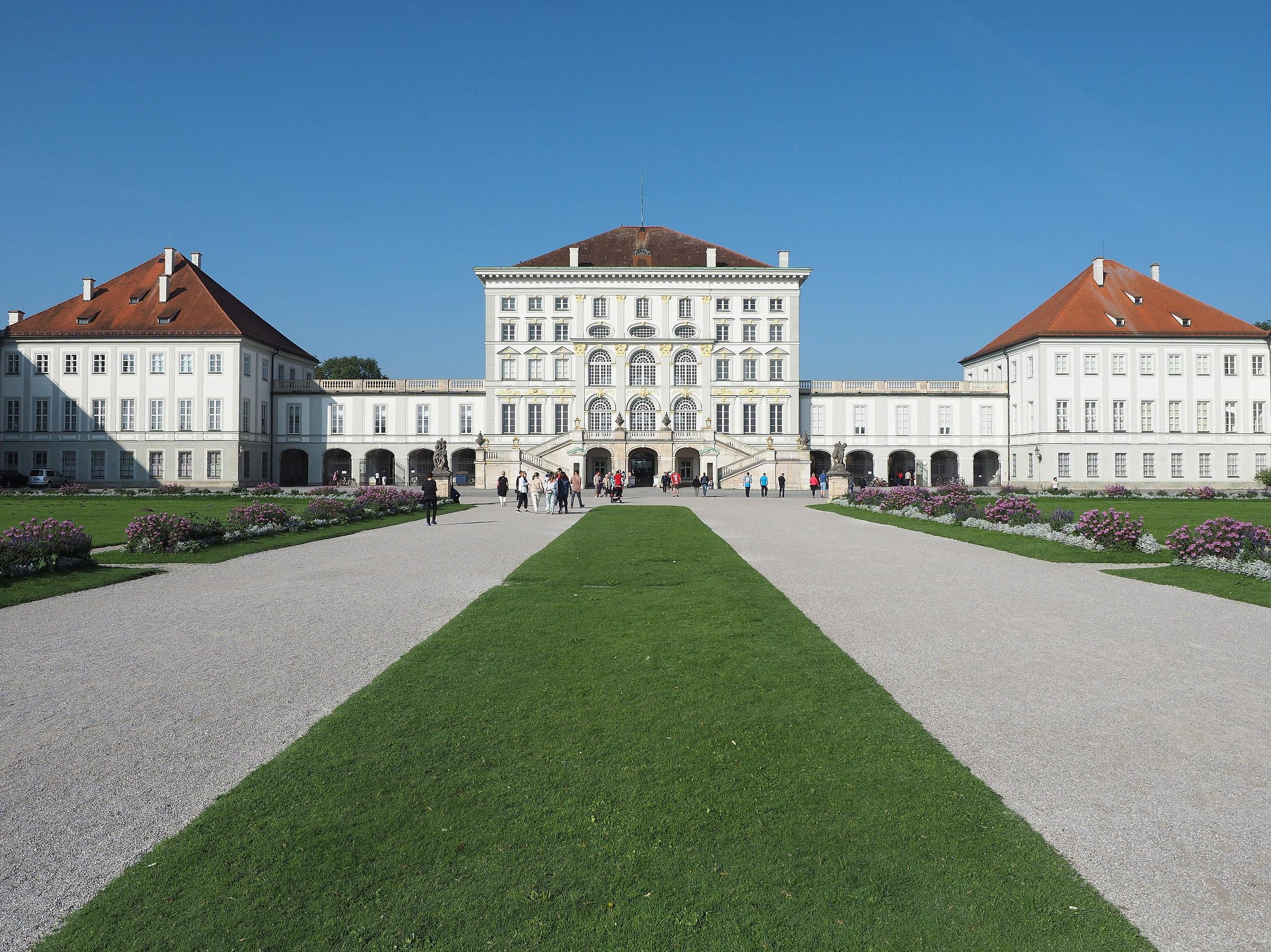 Nymphenburg Castle...