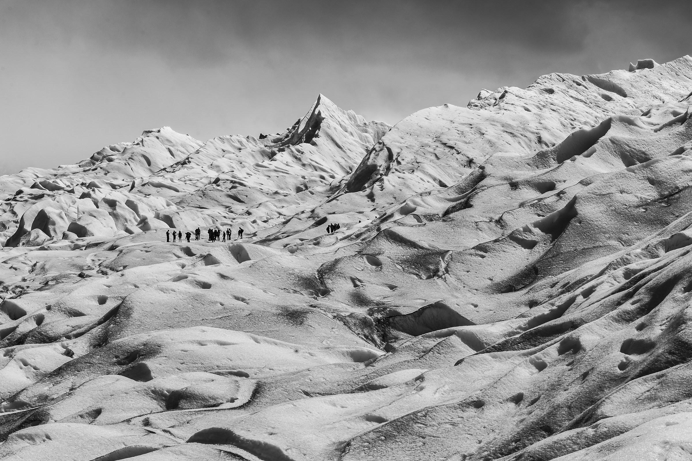 Due passi sul Perito Moreno...