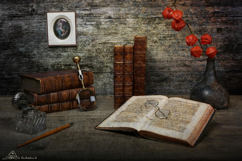 Antichi libri - Prove still life...