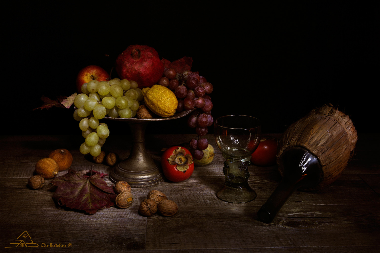 Alzatina con frutta   JuzaPhoto