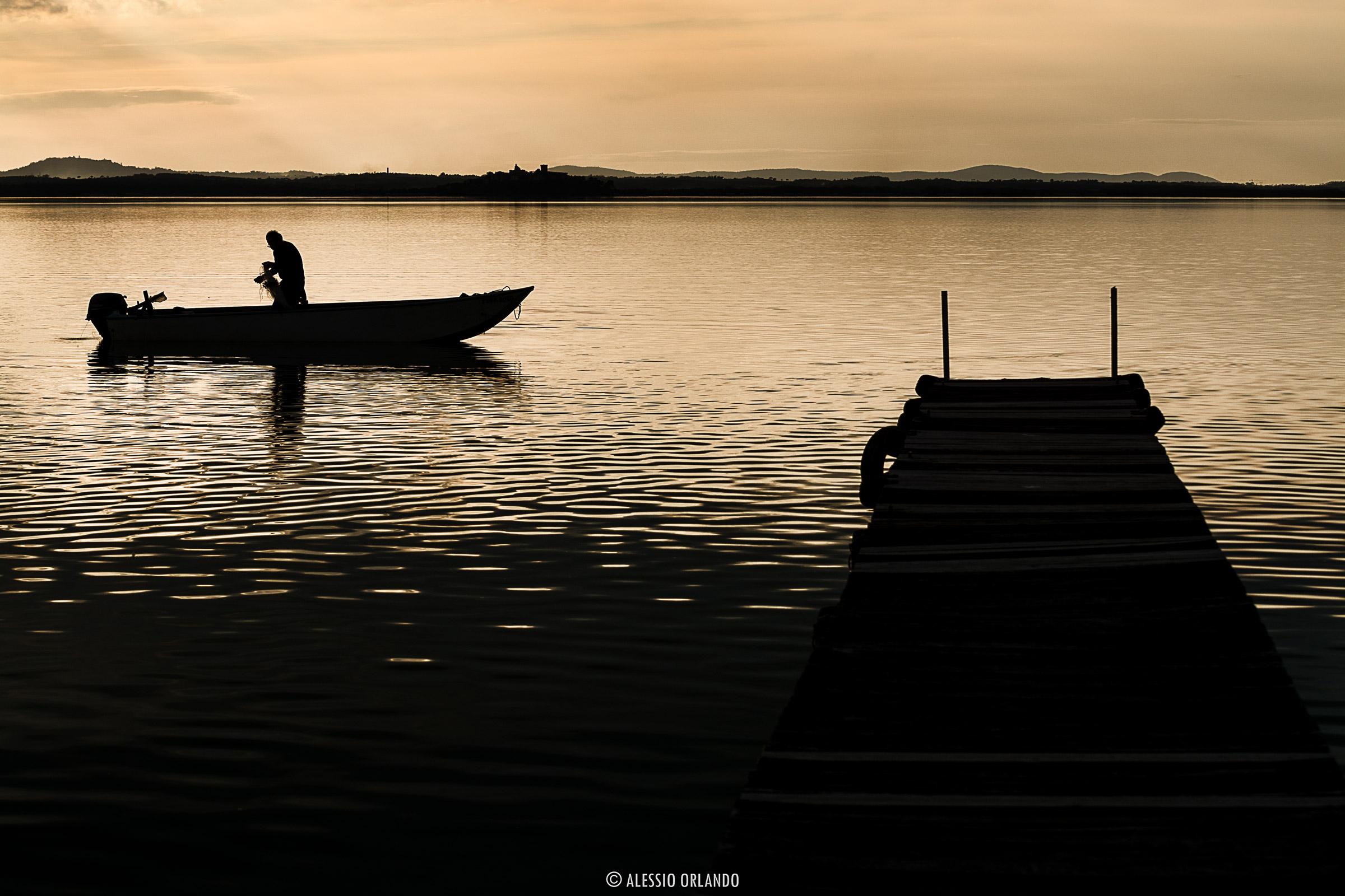 Fishing force pulls fisherman...