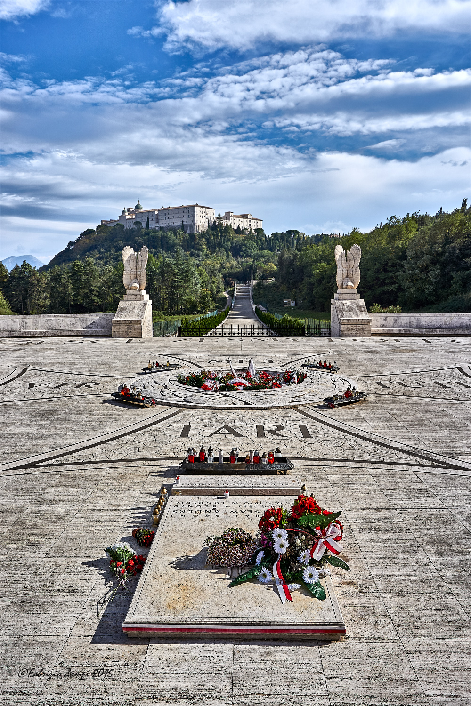 Polish cemetery at Monte Cassino...