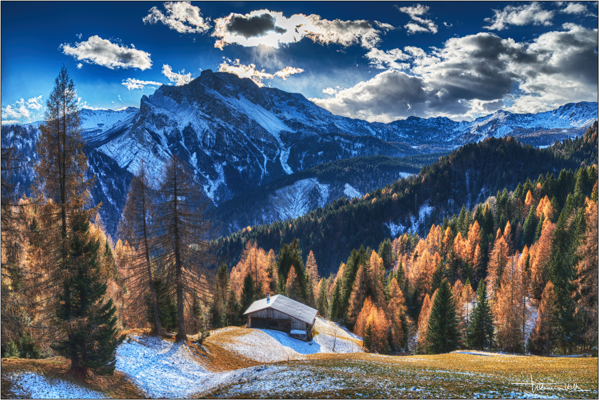 Autumn in the mountains....