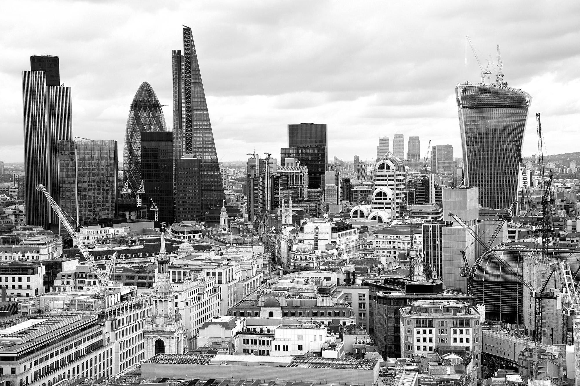 Londra sall'alto...