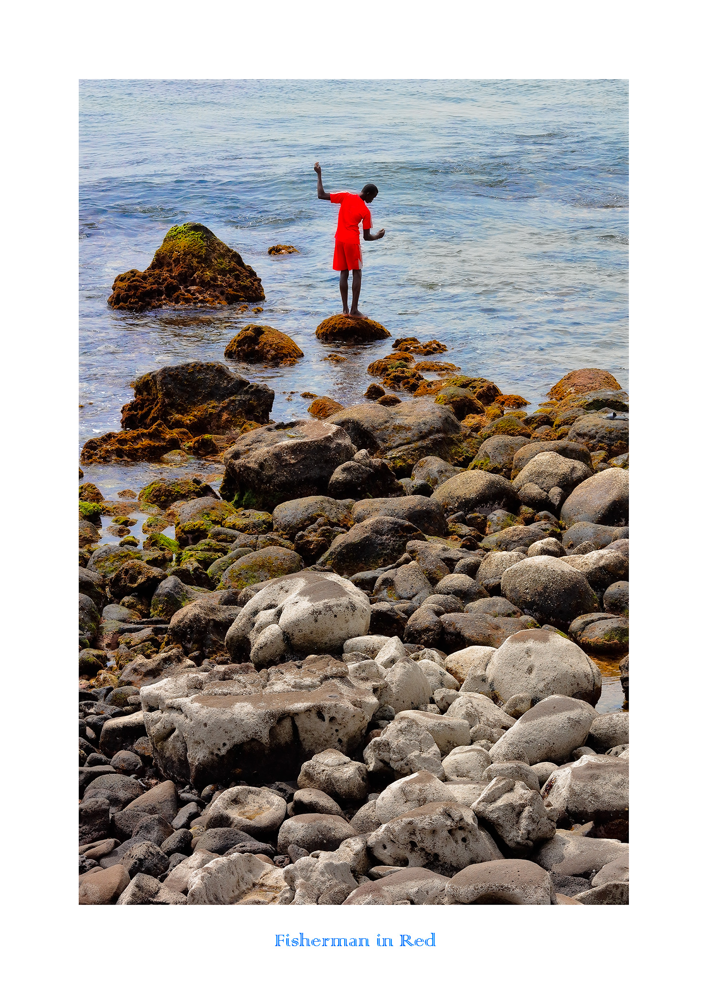 Fisherman in Red...