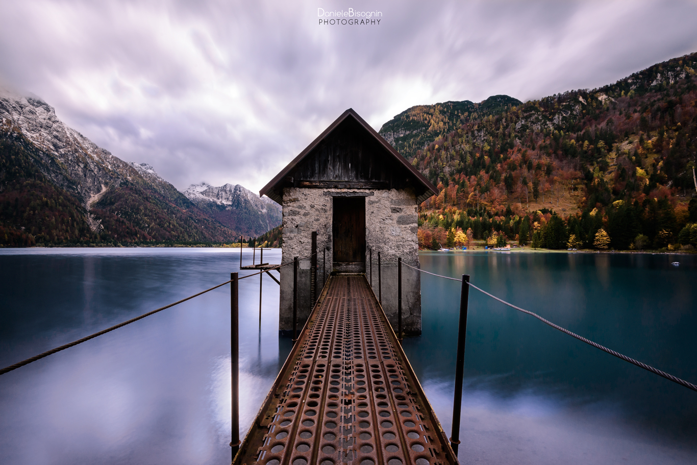 The hut in the lake...