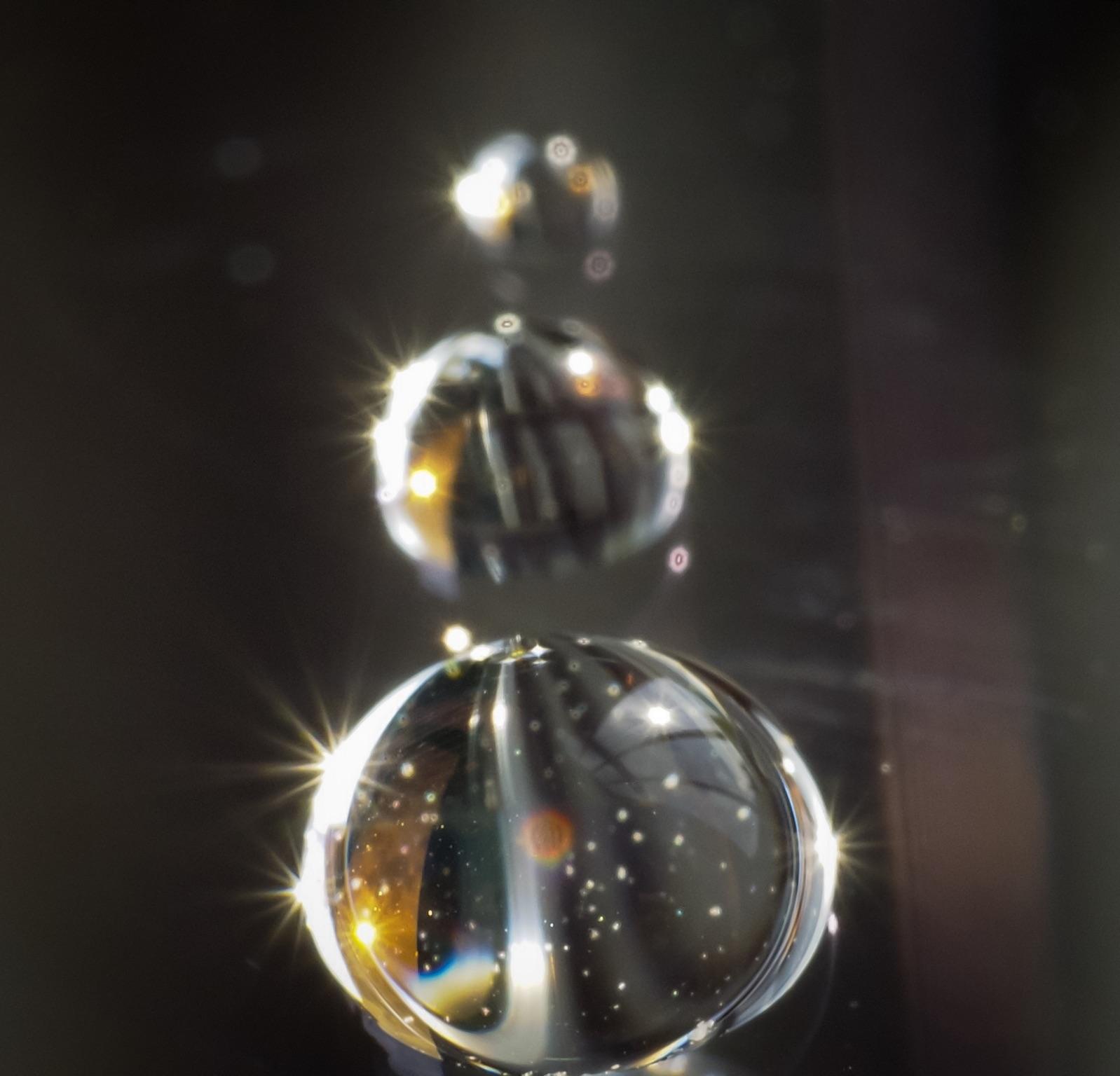 Drops of light...