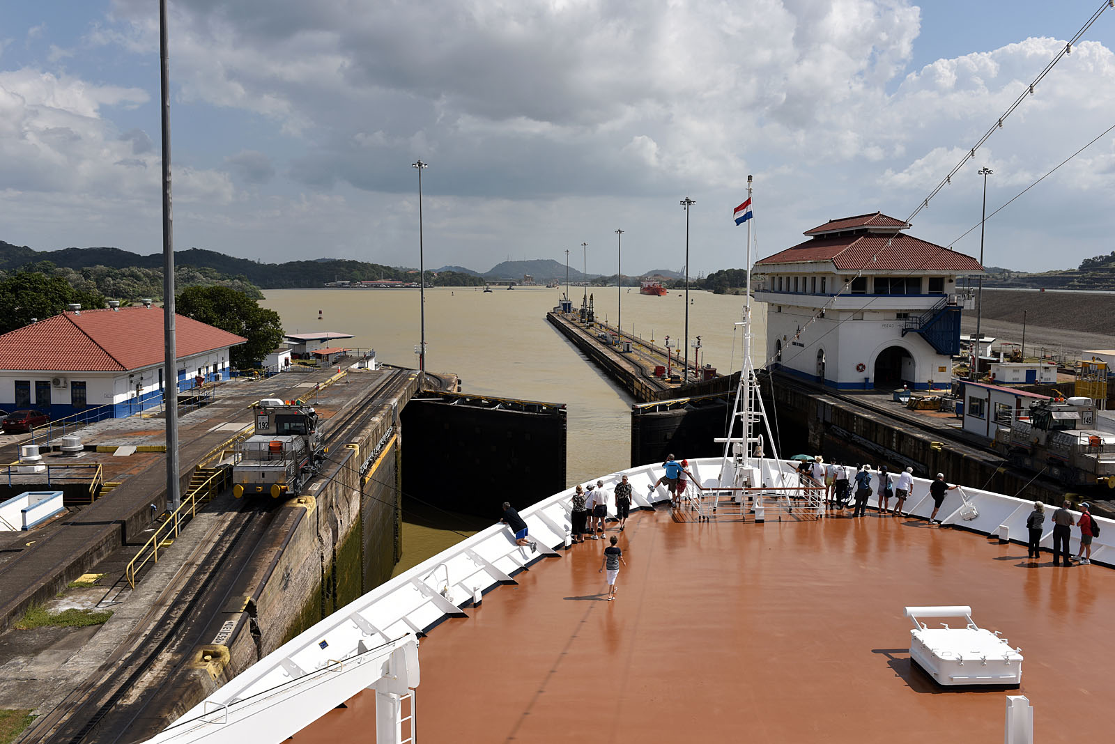 Exit Panama Canal Balboa...