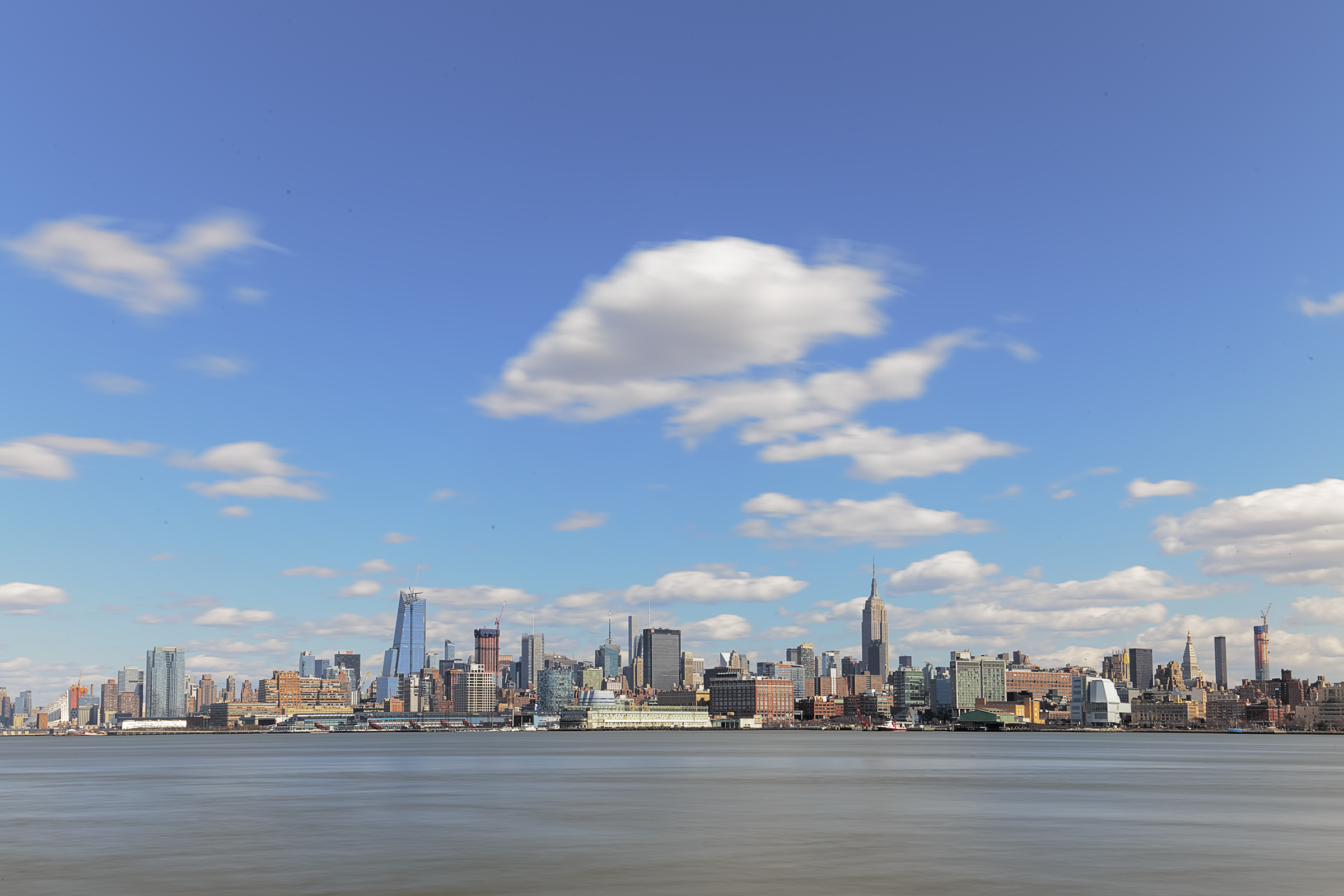 Skyline from Hoboken...