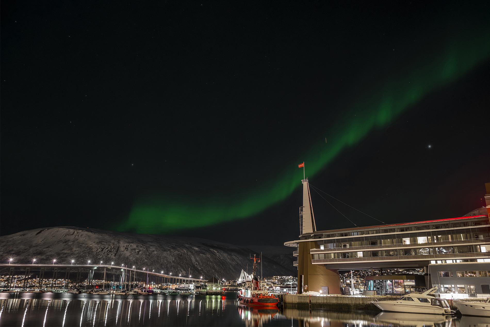 Lights in Tromso...