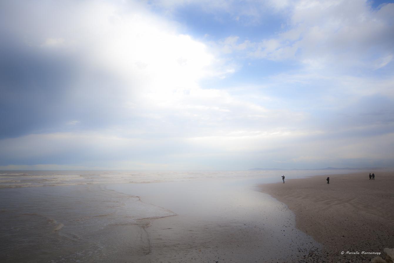 looking at the sea......