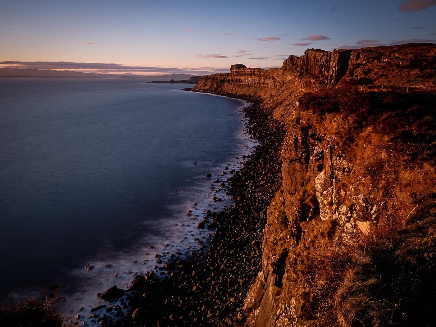 Sunrise. Skye, Scotland - UK...