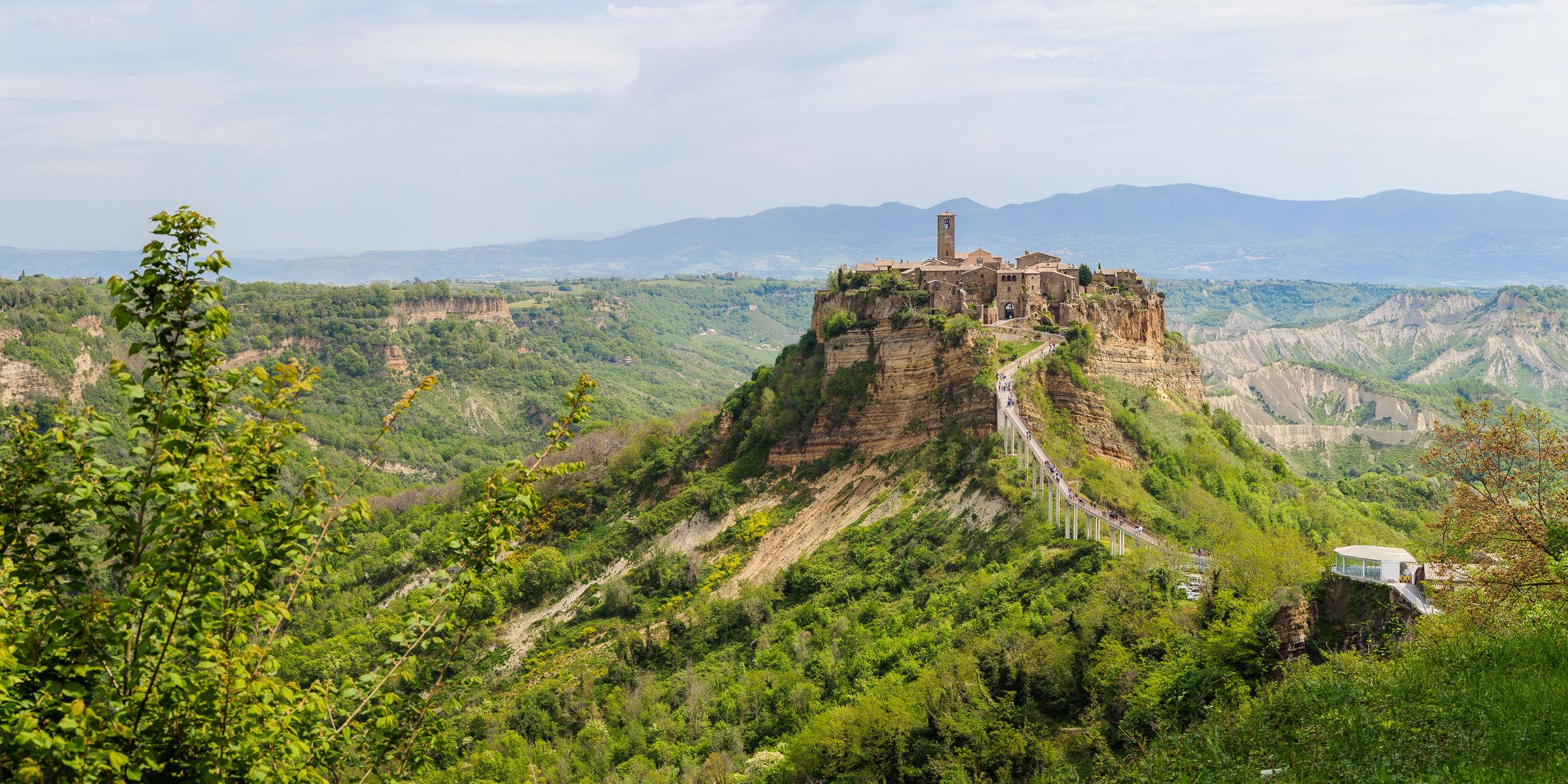 Postcard from Civita...