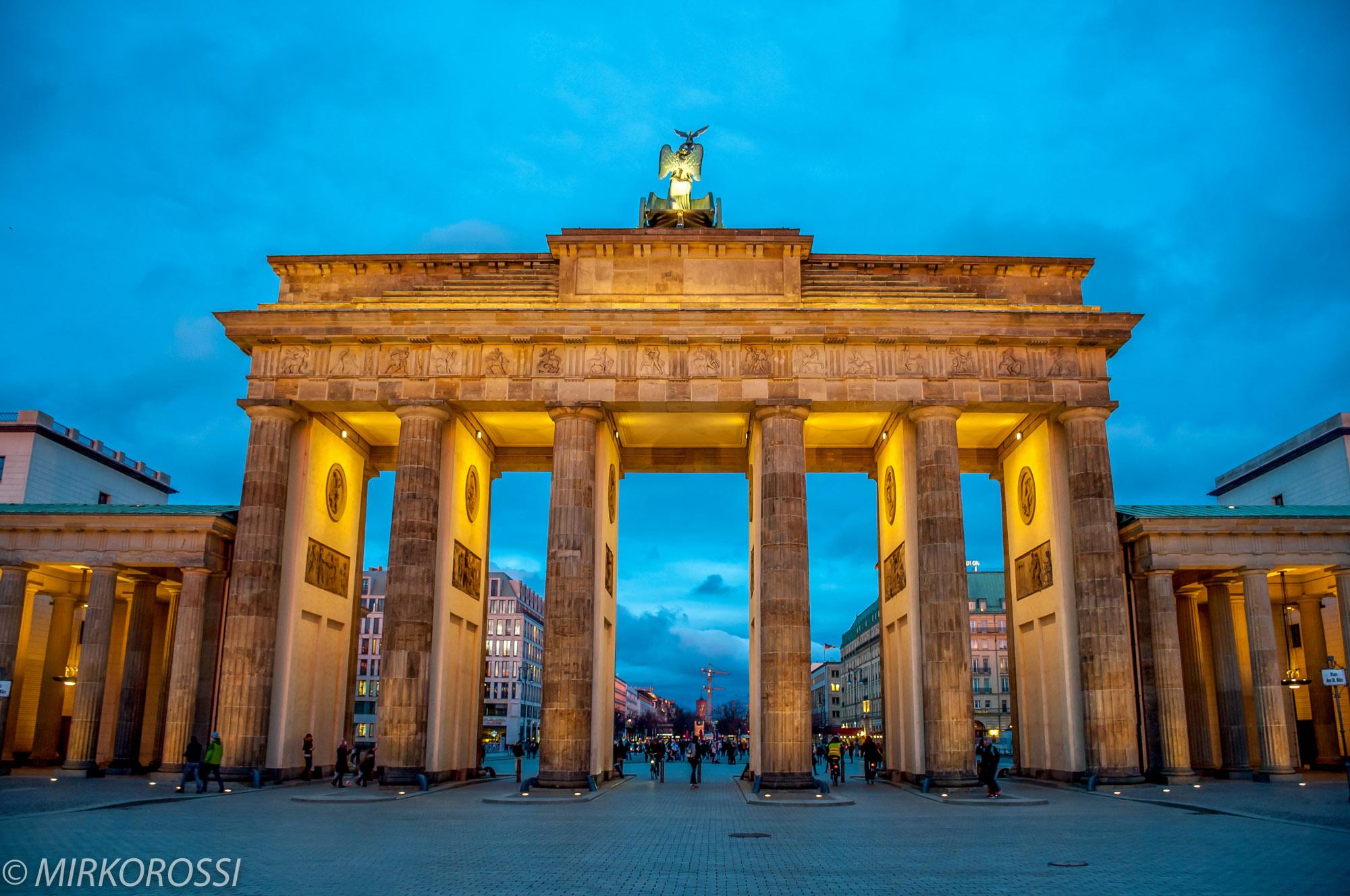 Porta di Brandeburgo...