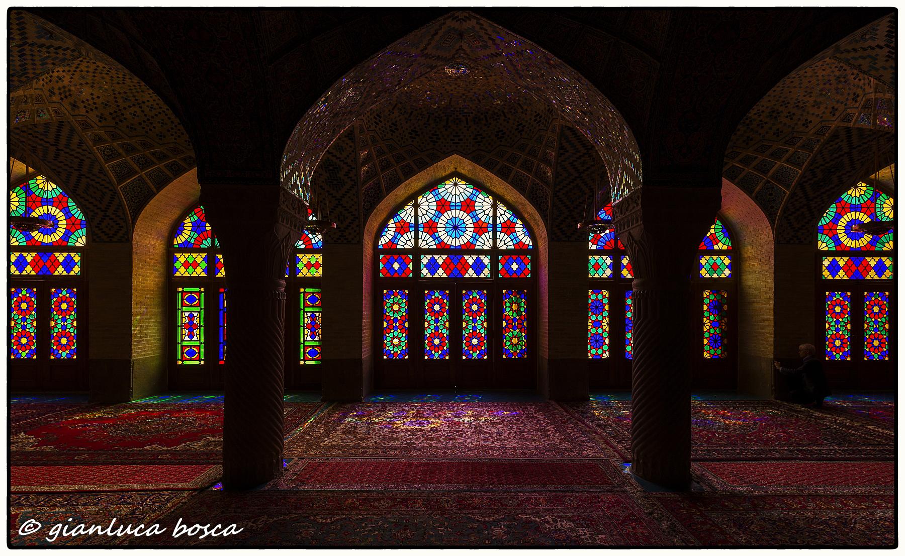 La moschea di Nasir ol Molk a Shiraz...