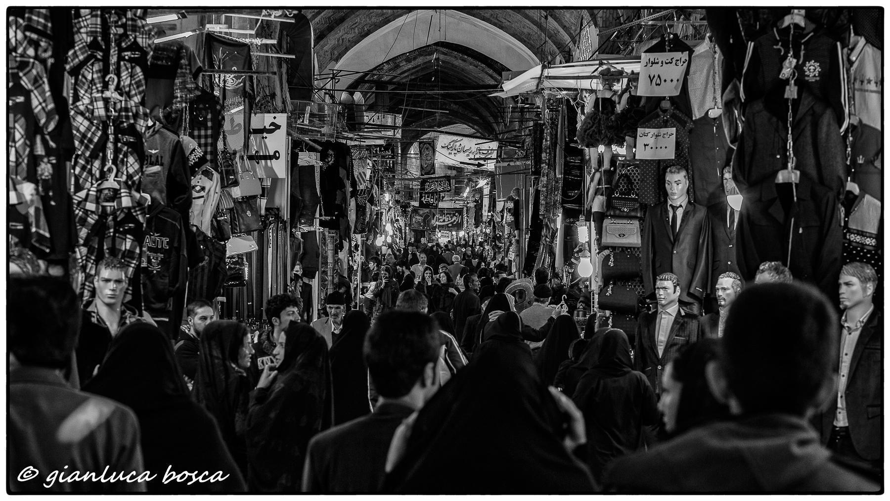 The Bazaar of Isfahan...