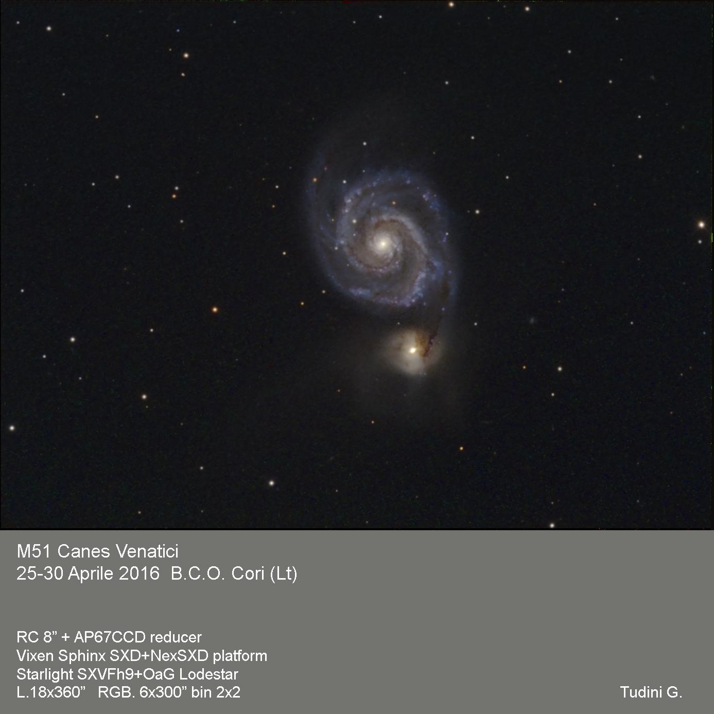 M51 Wirlpool galaxy...