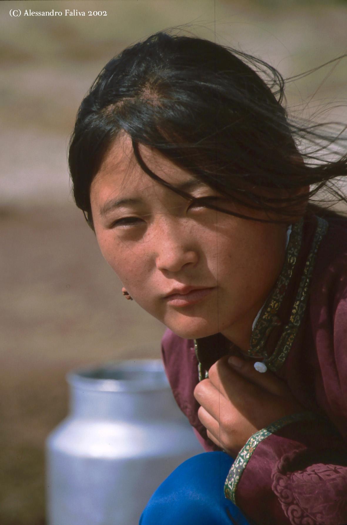 Ritratto Mongolia...