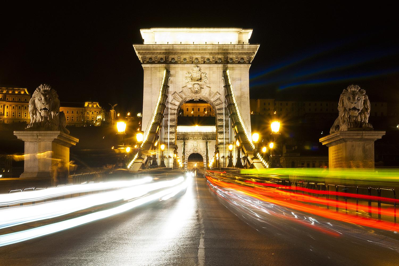 Budapest Chain Bridge...