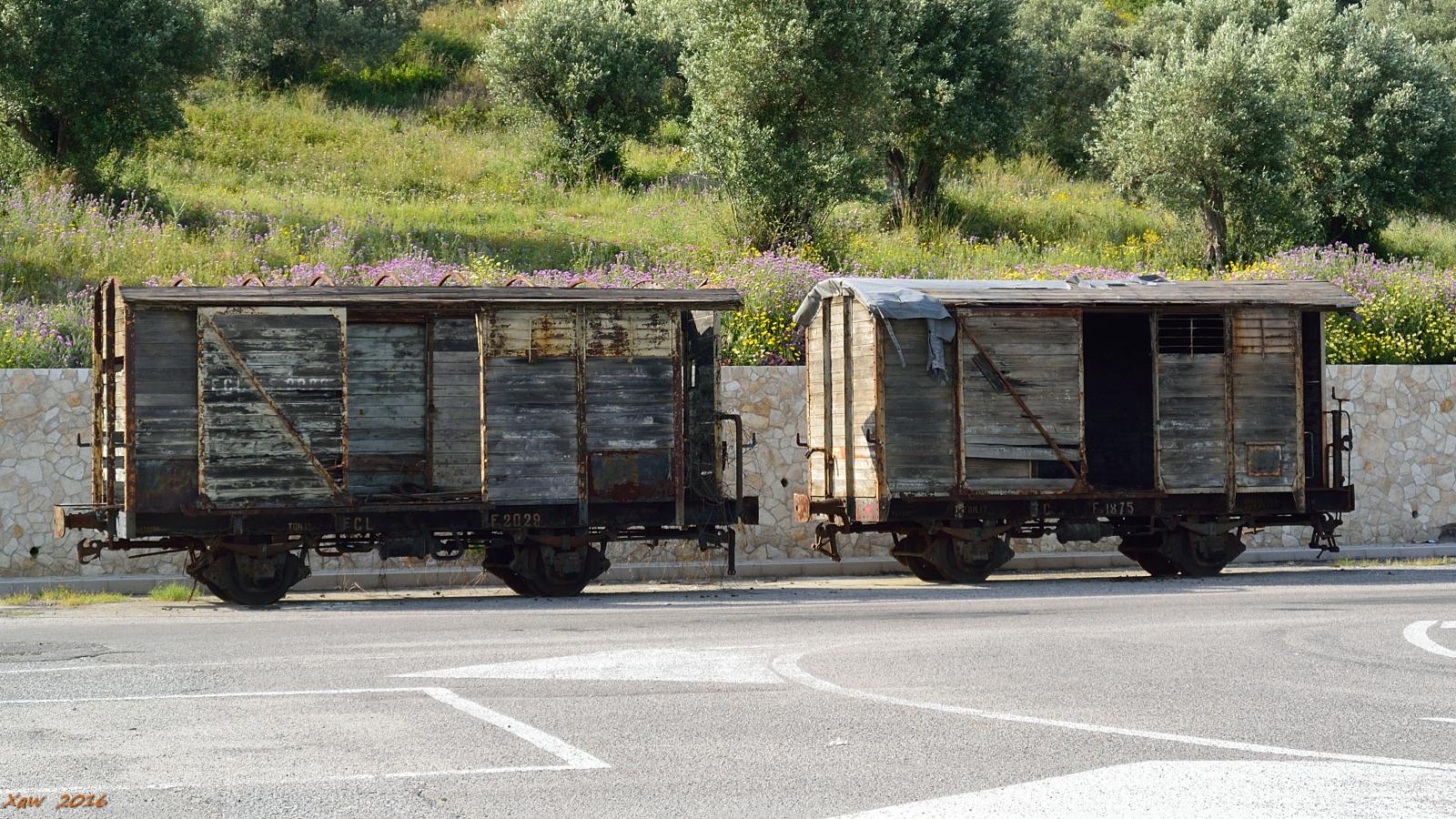 Vecchi vagoni...