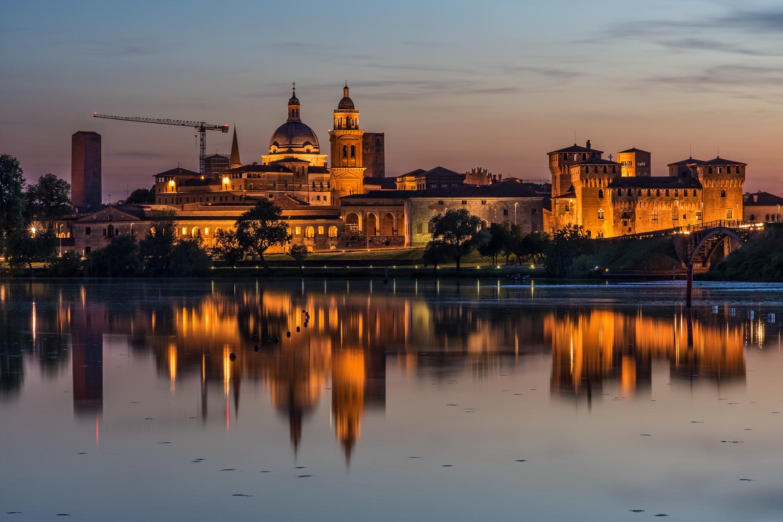 Sunset in Mantova...