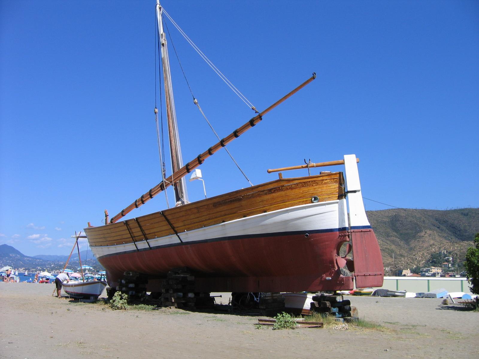 Galleon in Sestri Levante...