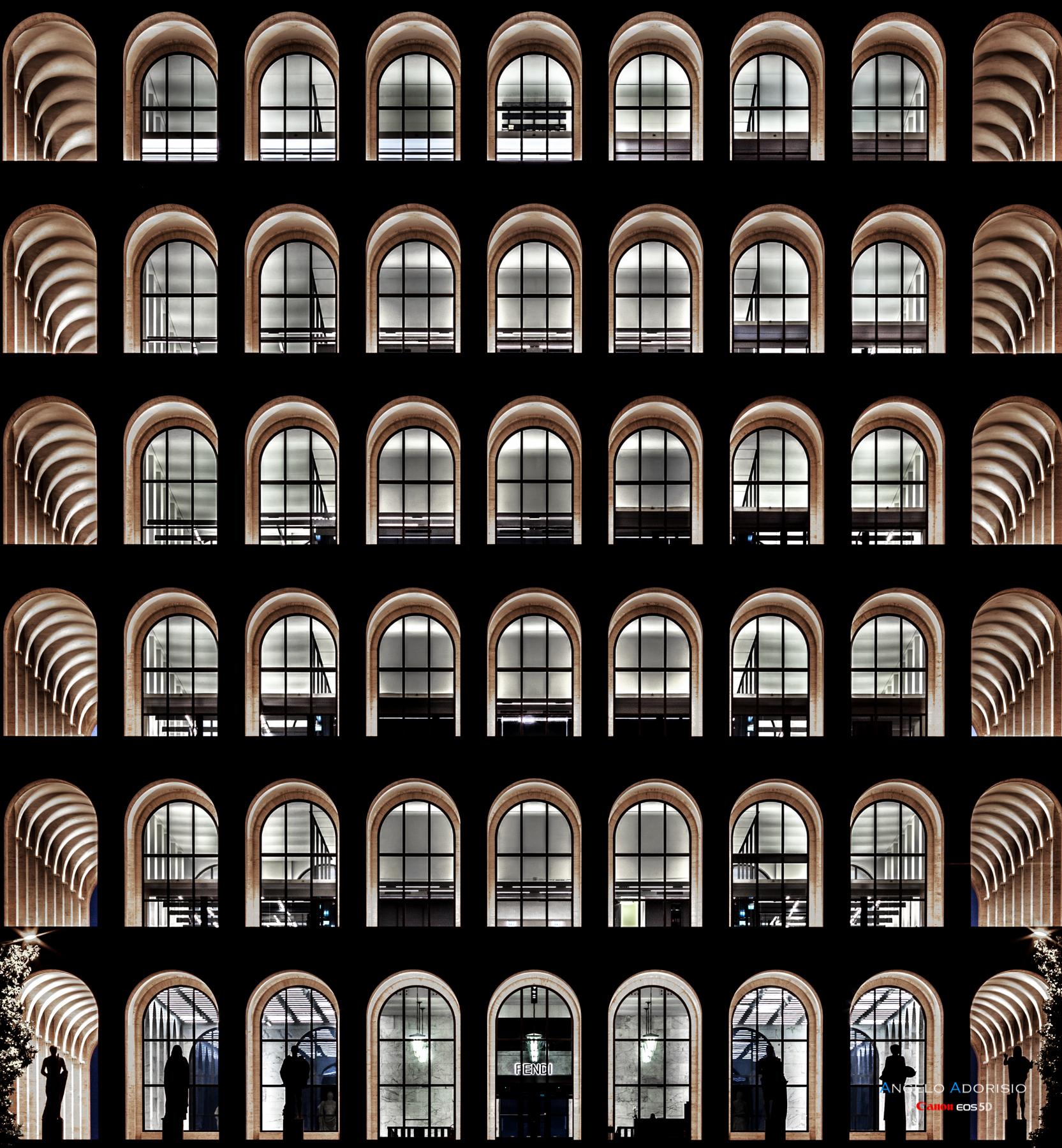 Rome EUR - Palace of Civilization...