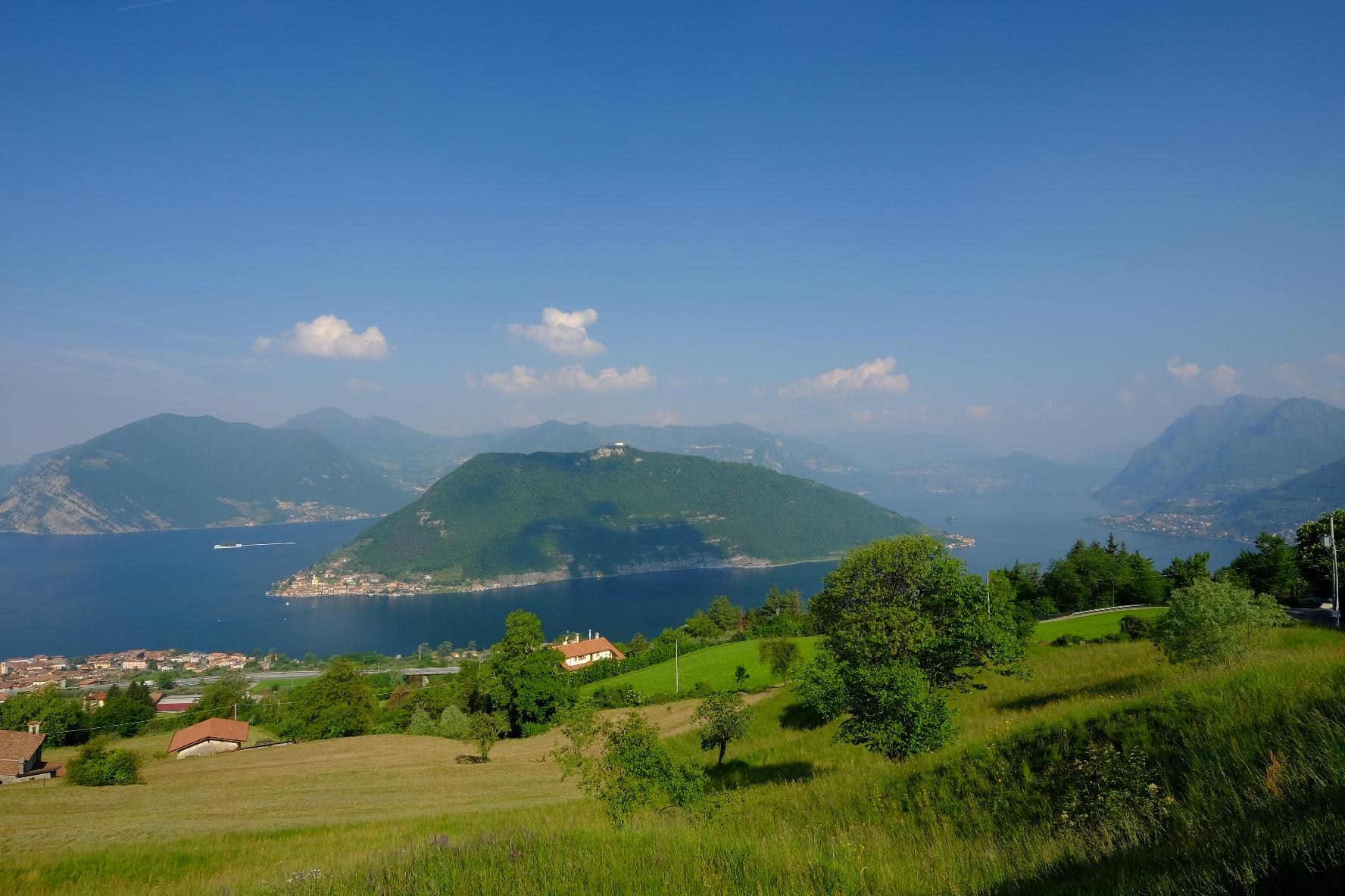 Lago Sebino -Montisola...