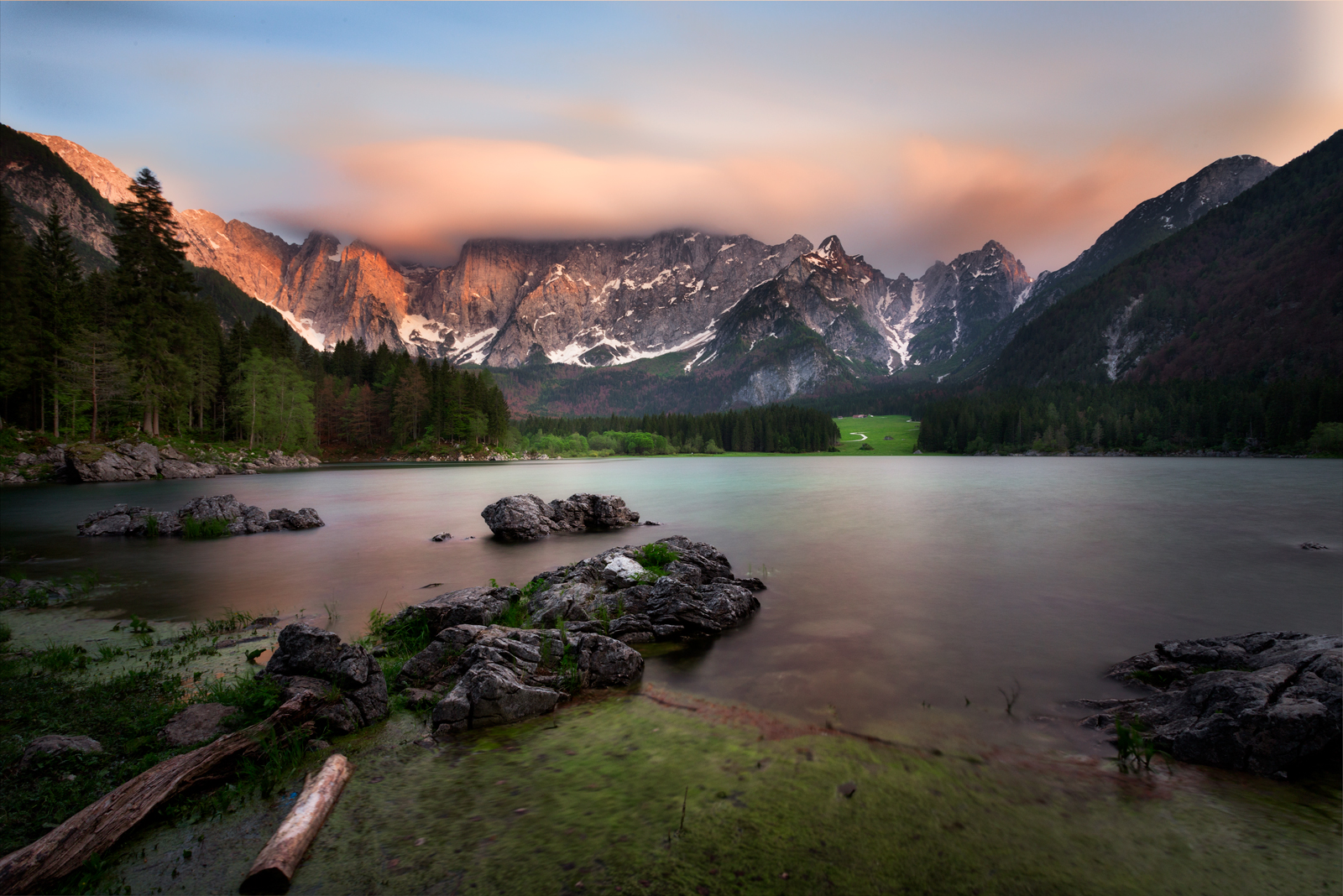 Lake Fusine...