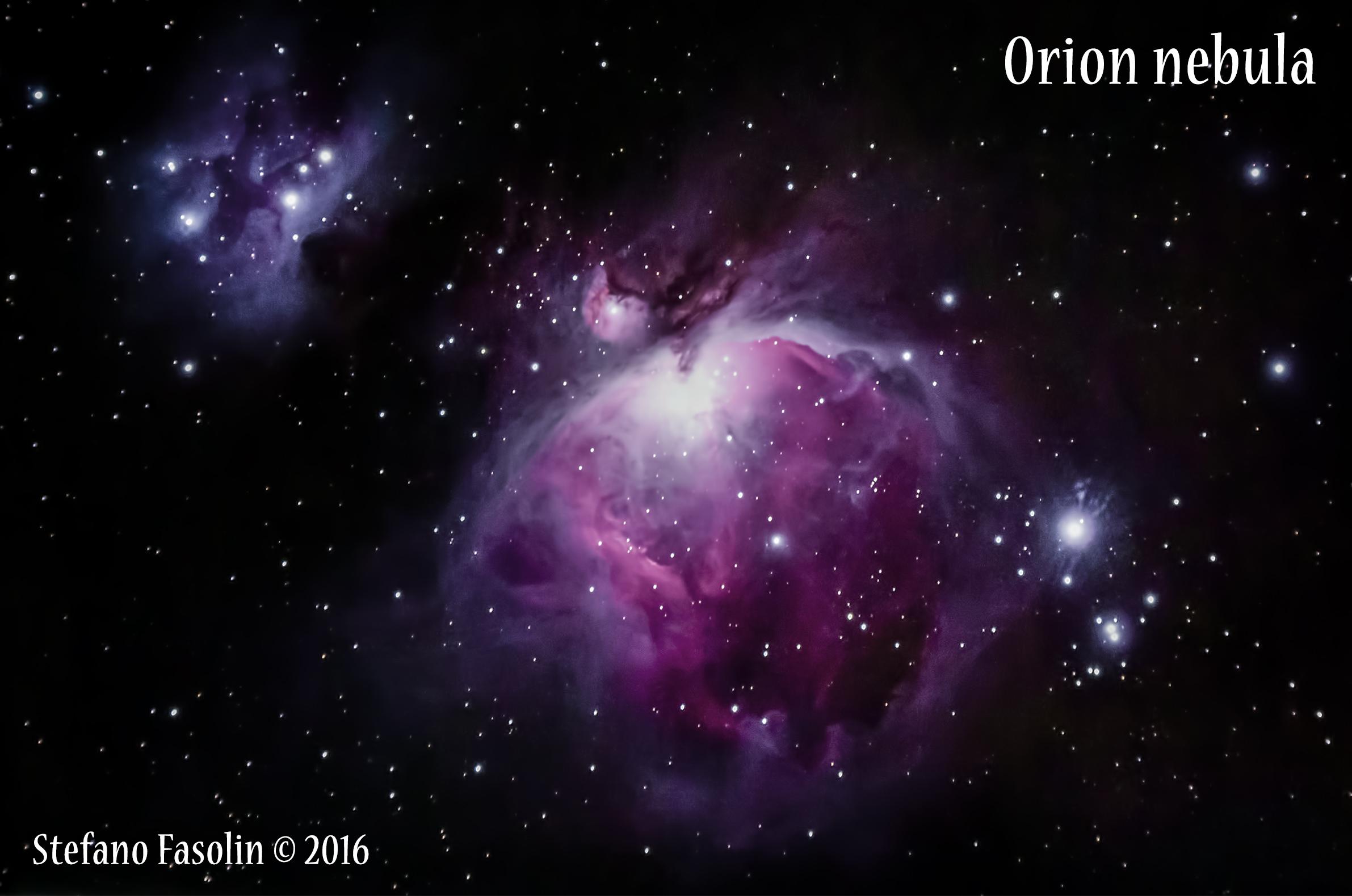 M42 - Great Orion Nebula (reorganization)...
