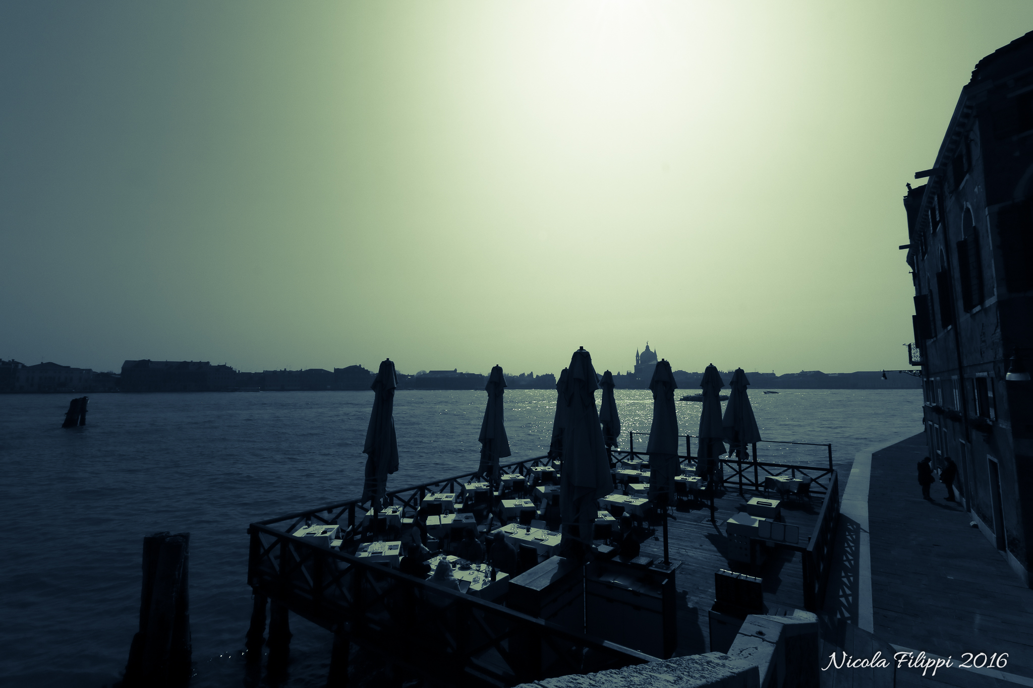 Venezia - ristorante sul mare...