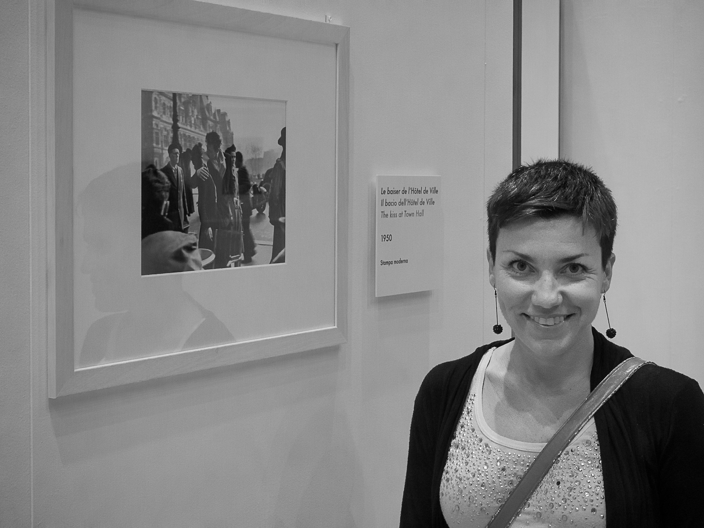 Meeting at the exhibition Doisneau Monza 09/06/16...