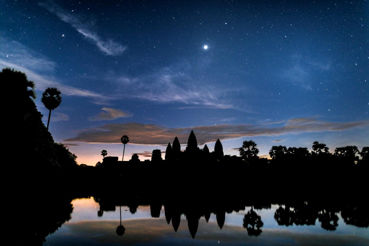 Angkor Wat, before the sunrise...