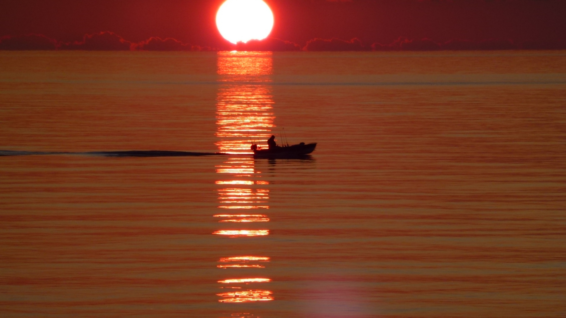 different sunset...