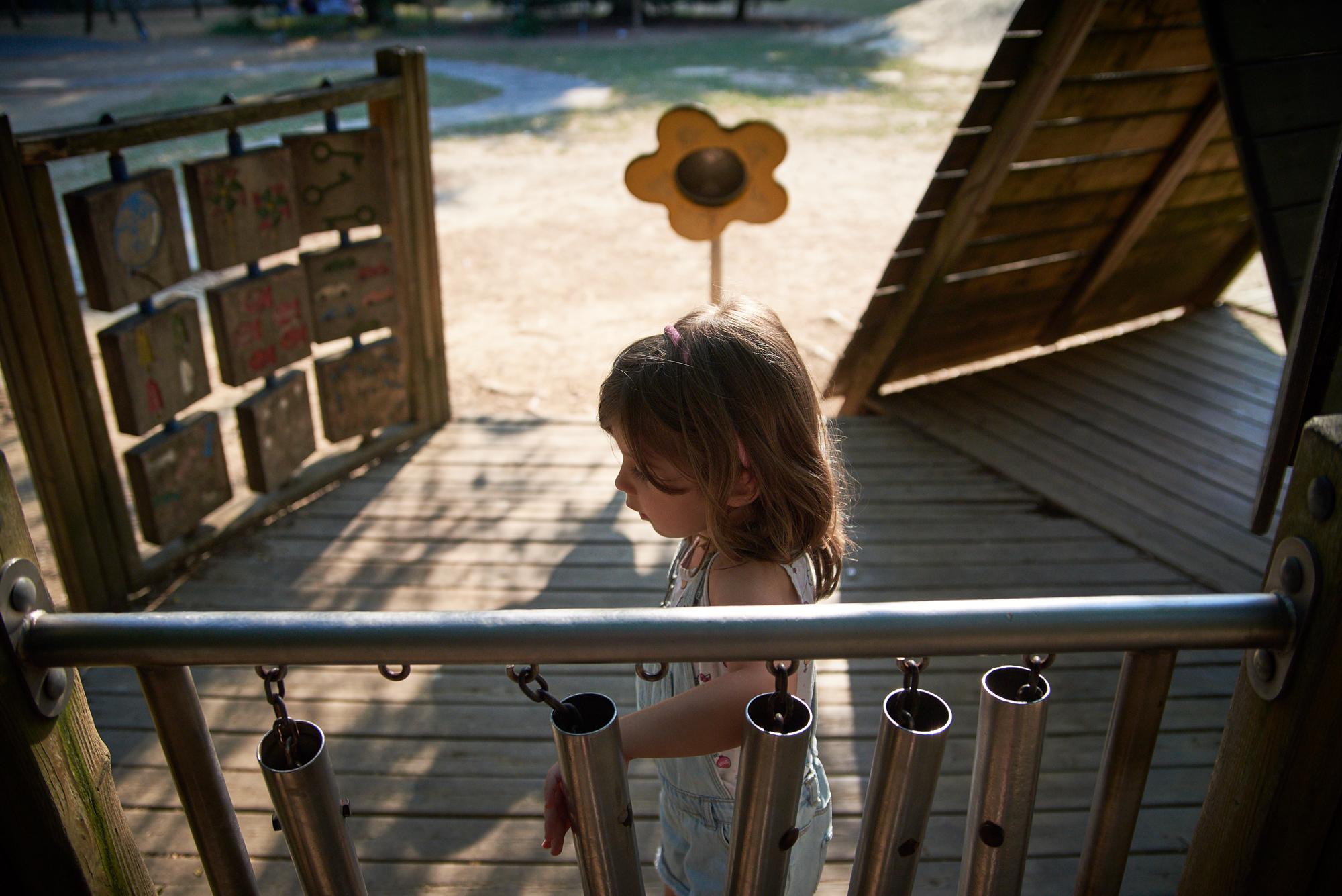 the playground...