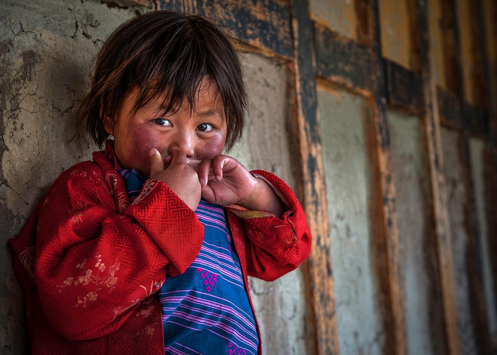 World portrait - Bhutan...