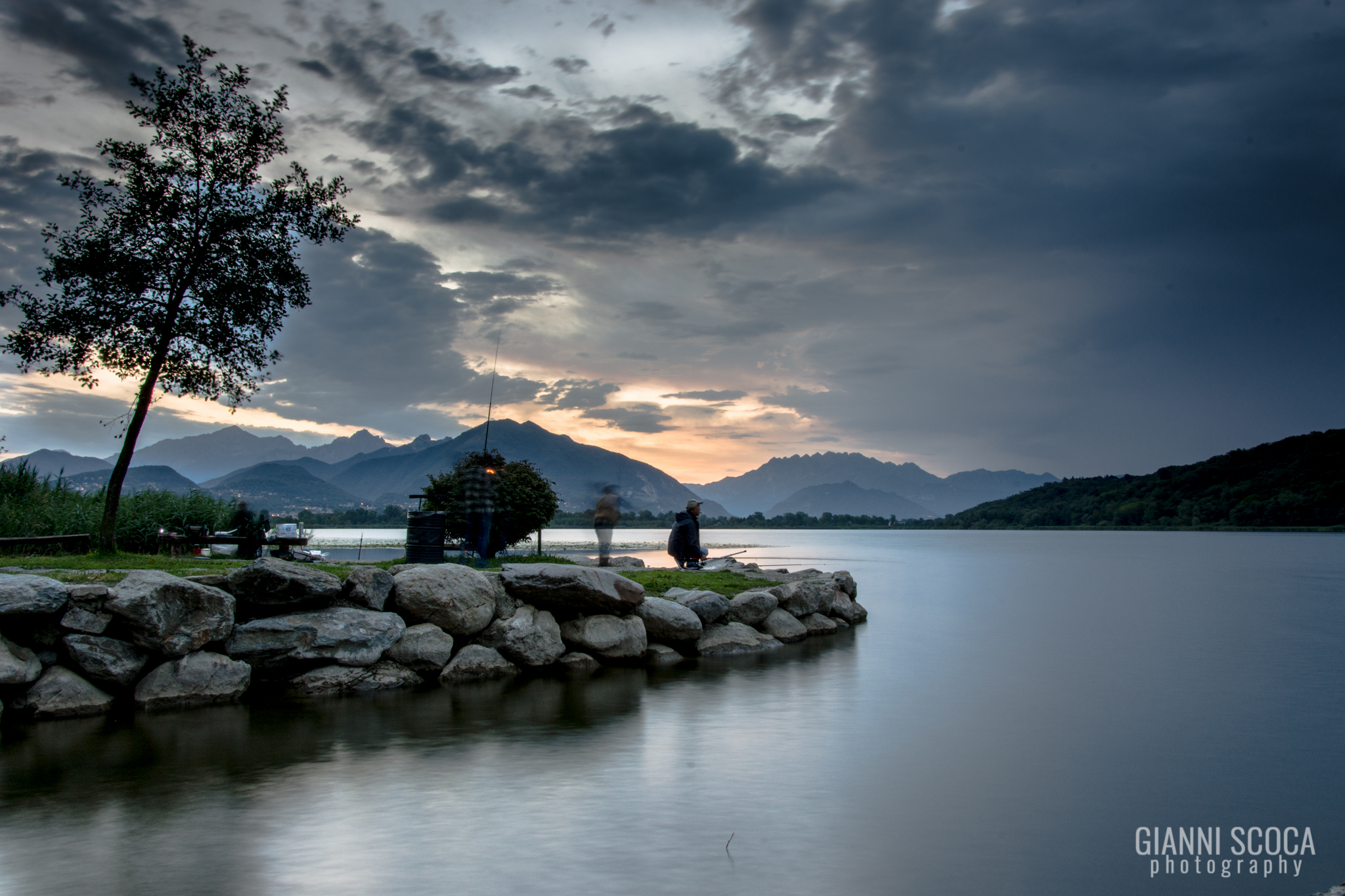 Lake Alserio...