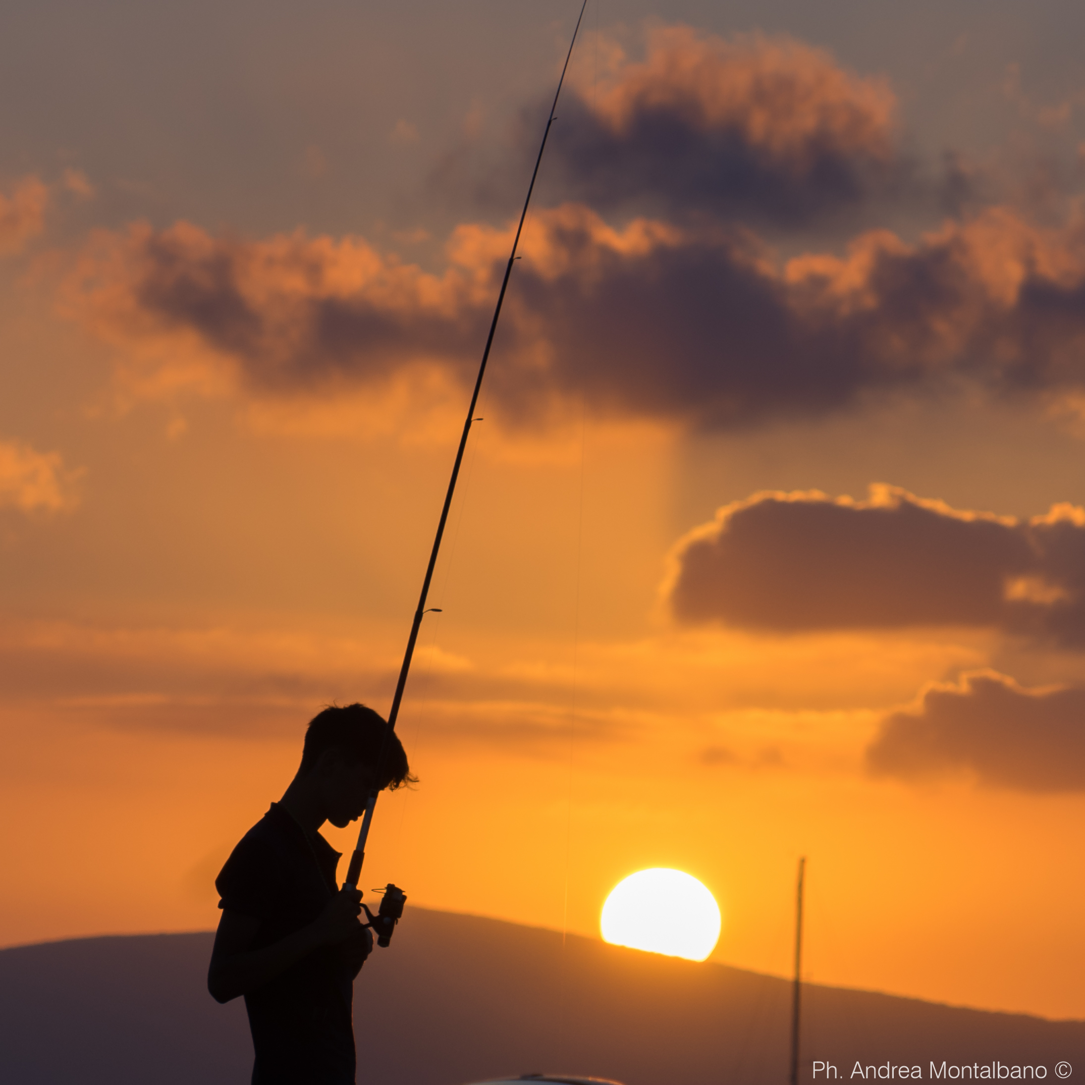 the young fisherman...