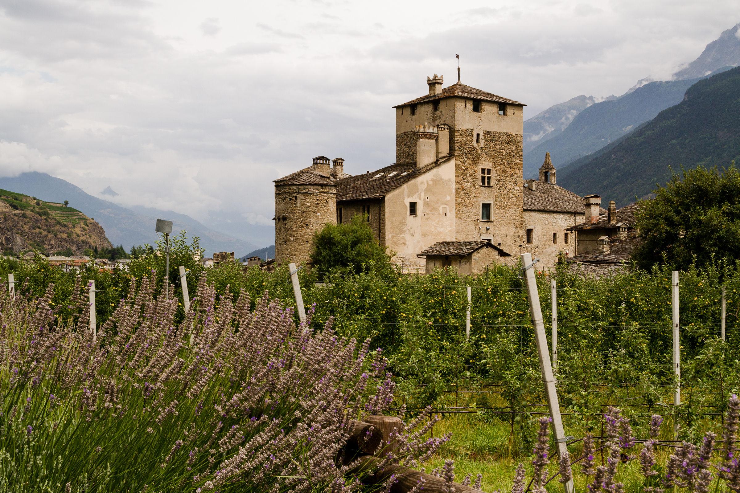 Castle in Val d'Aosta...
