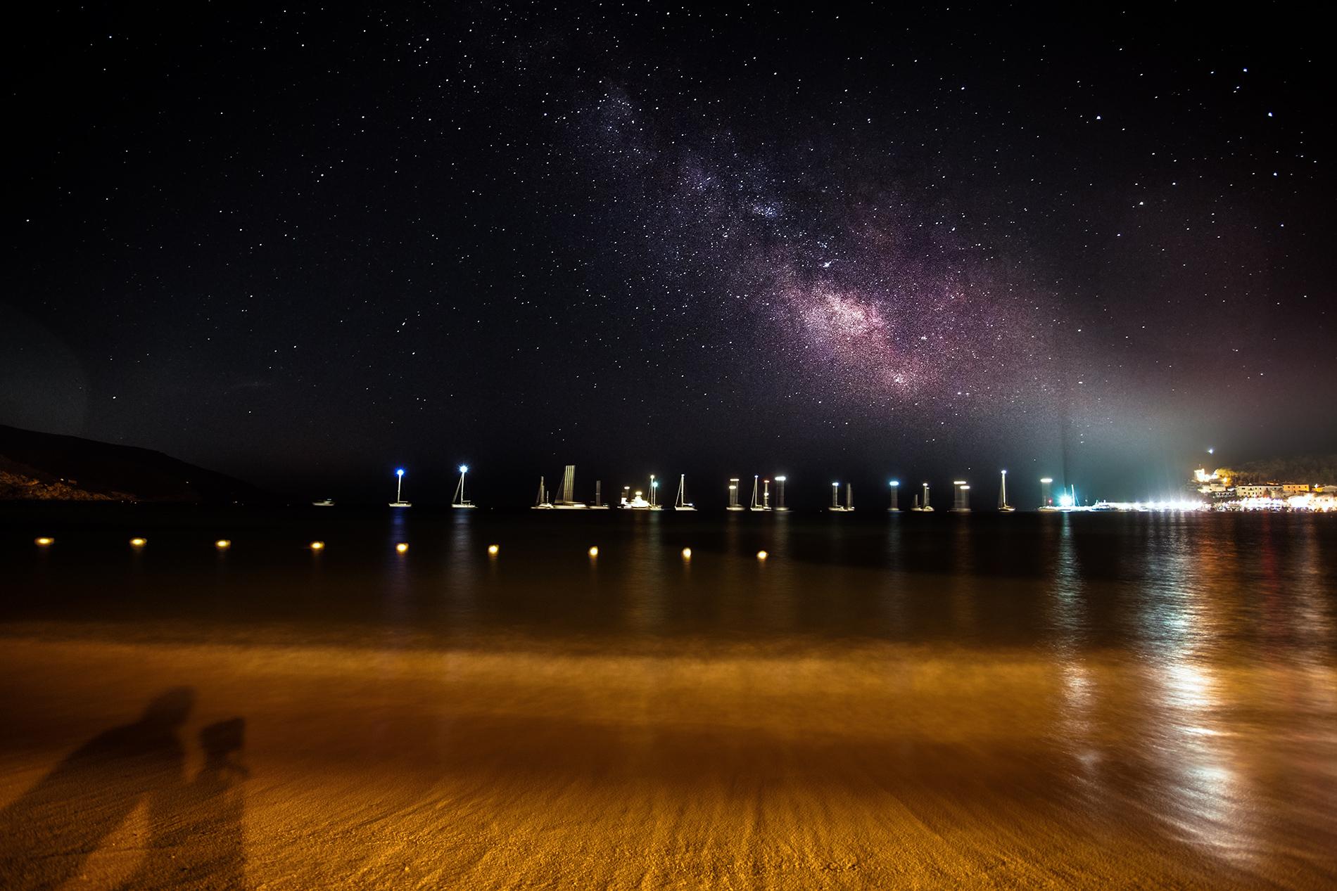night at Navy Field...