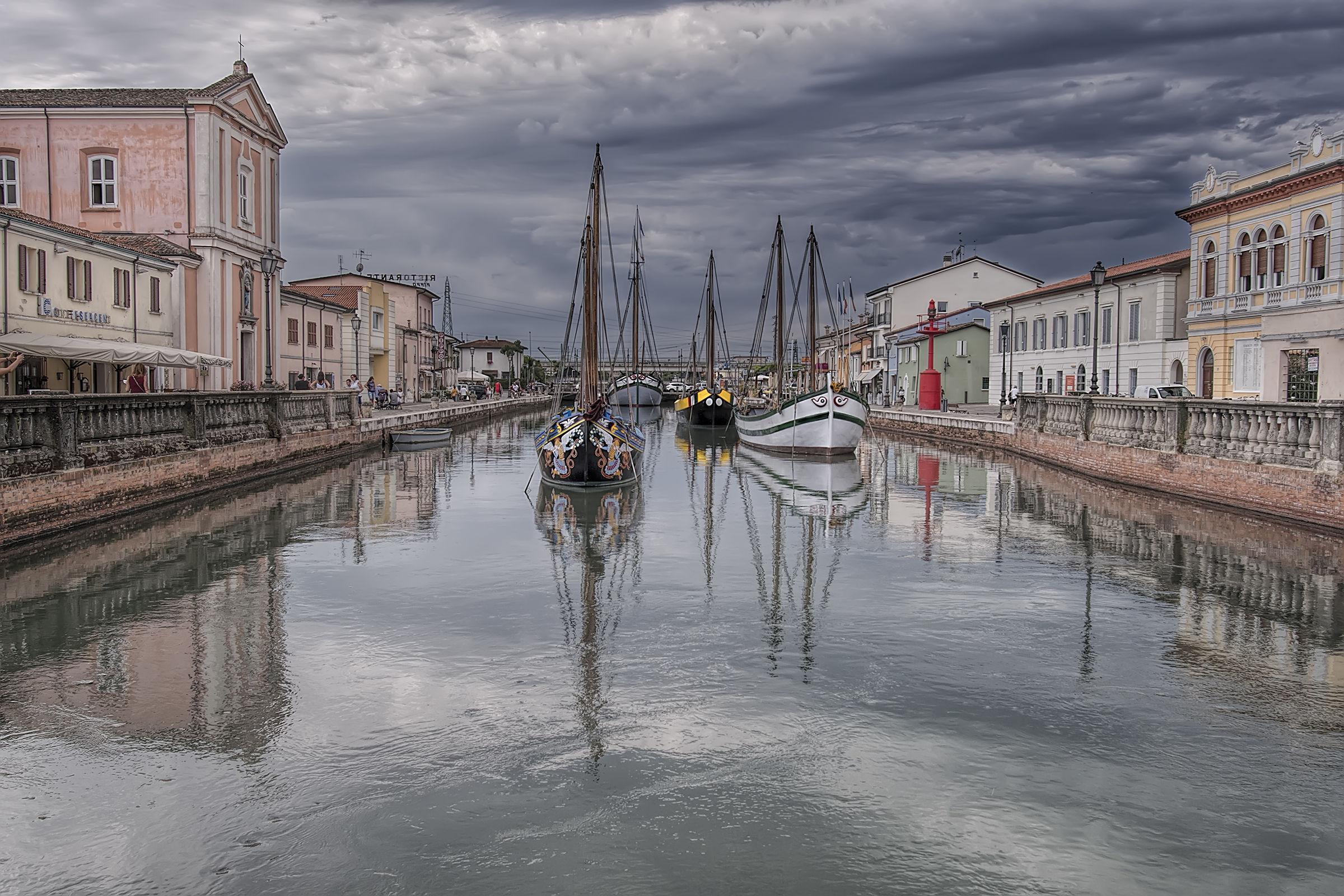 Port of Cesenatico...