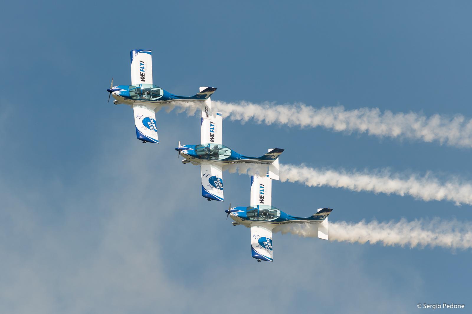 Air Show Frecce Tricolori and the Centennial Aeritalia...