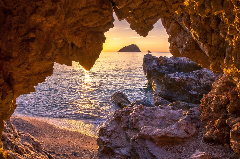 Small cave in Spotorno...