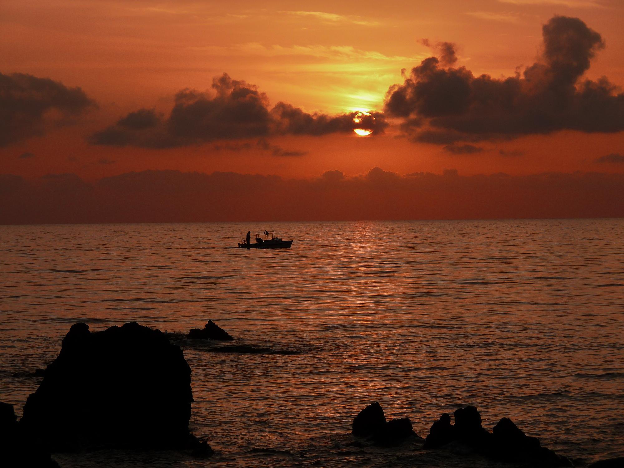 Composizione romantica al tramonto.....