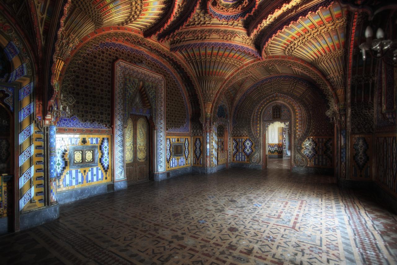 La Sala Dei Pavoni...