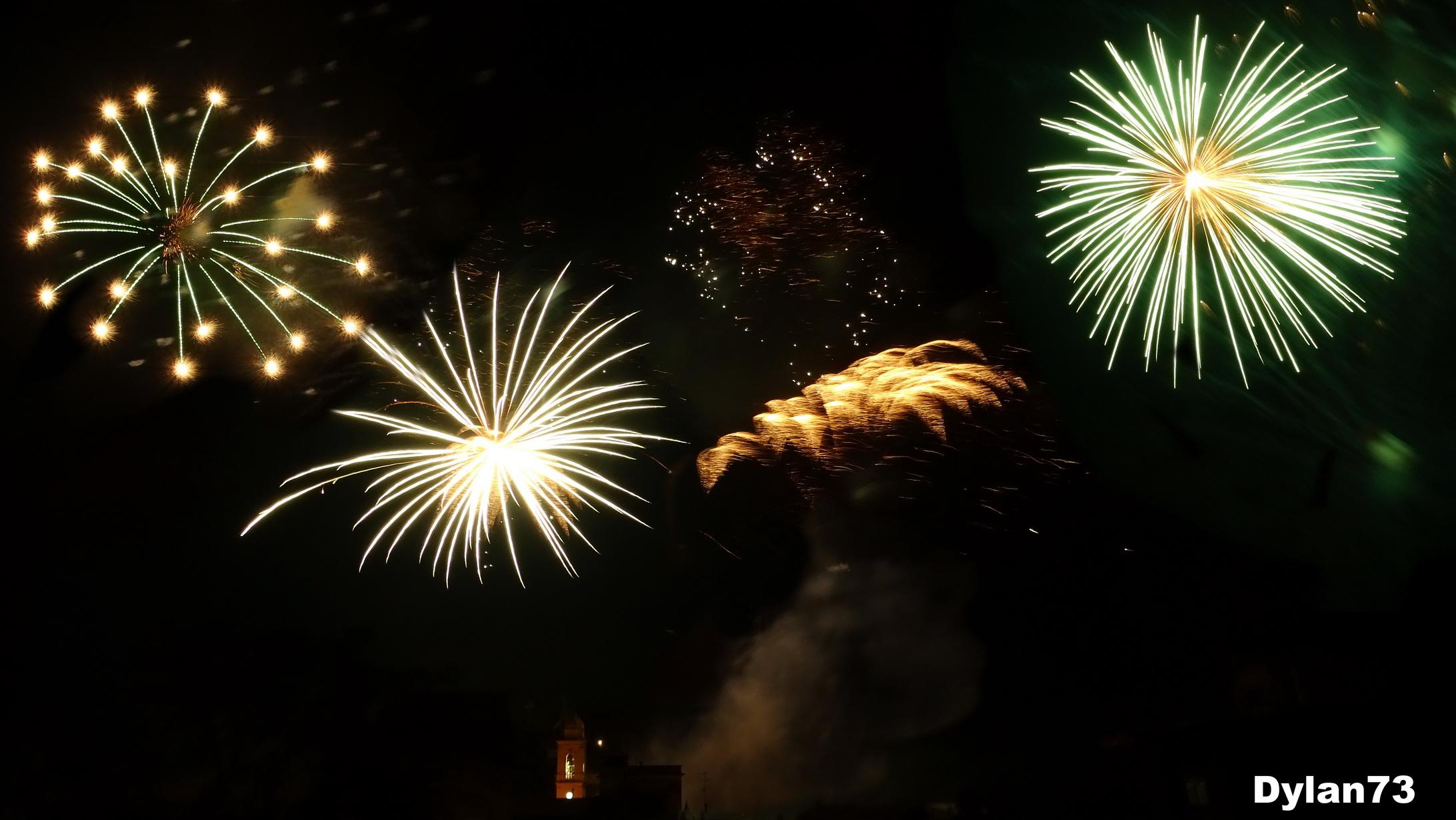 Fireworks second test...