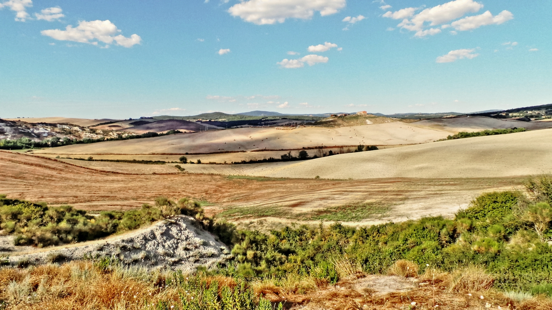 Val d'Orcia colors...