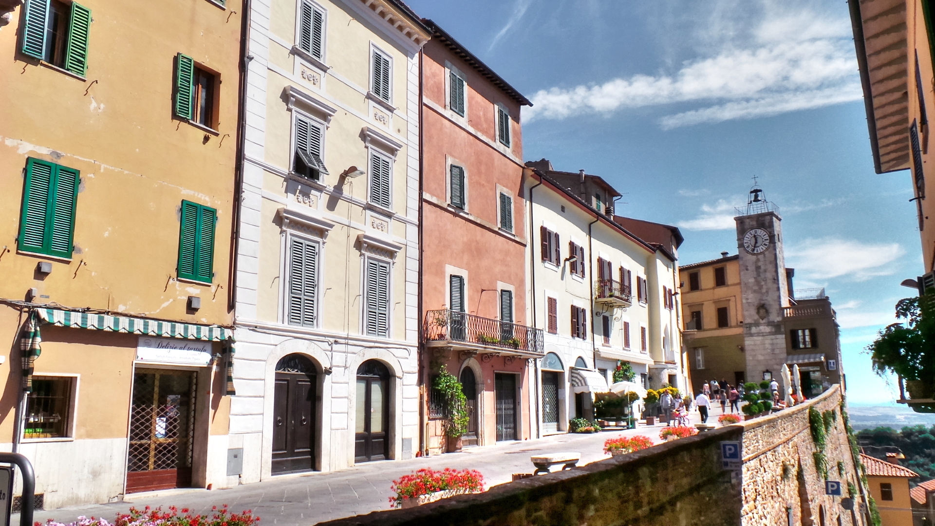 Chianciano, Old Town...