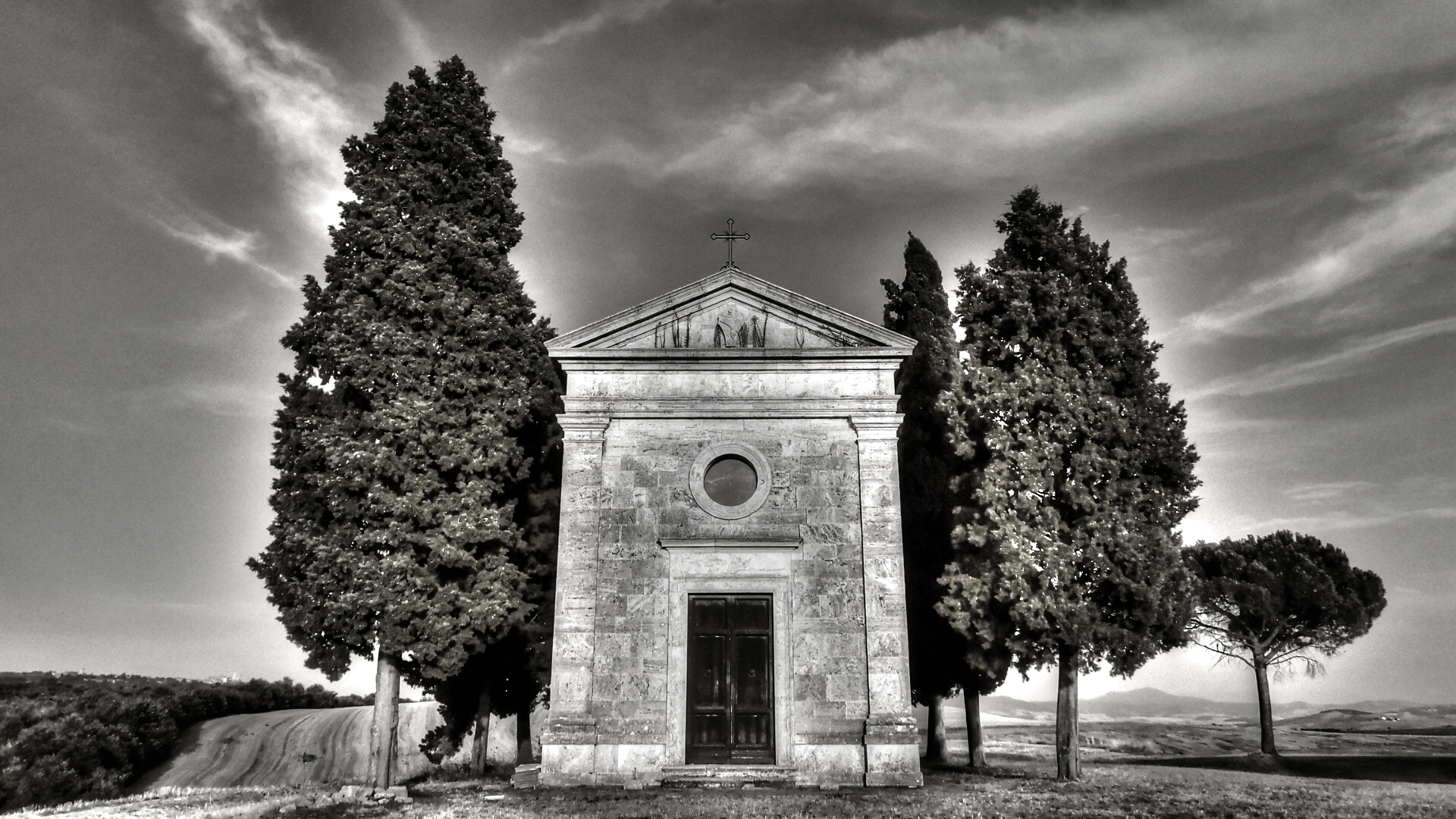 The most photographed of the Val D'Orcia .......