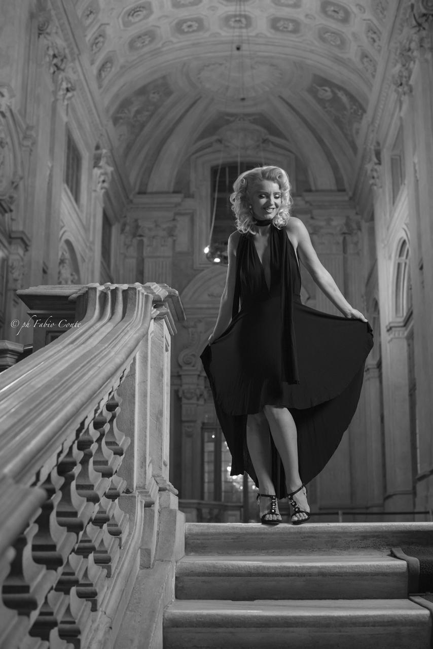 Marilyn, Palazzo Madama. Turin....